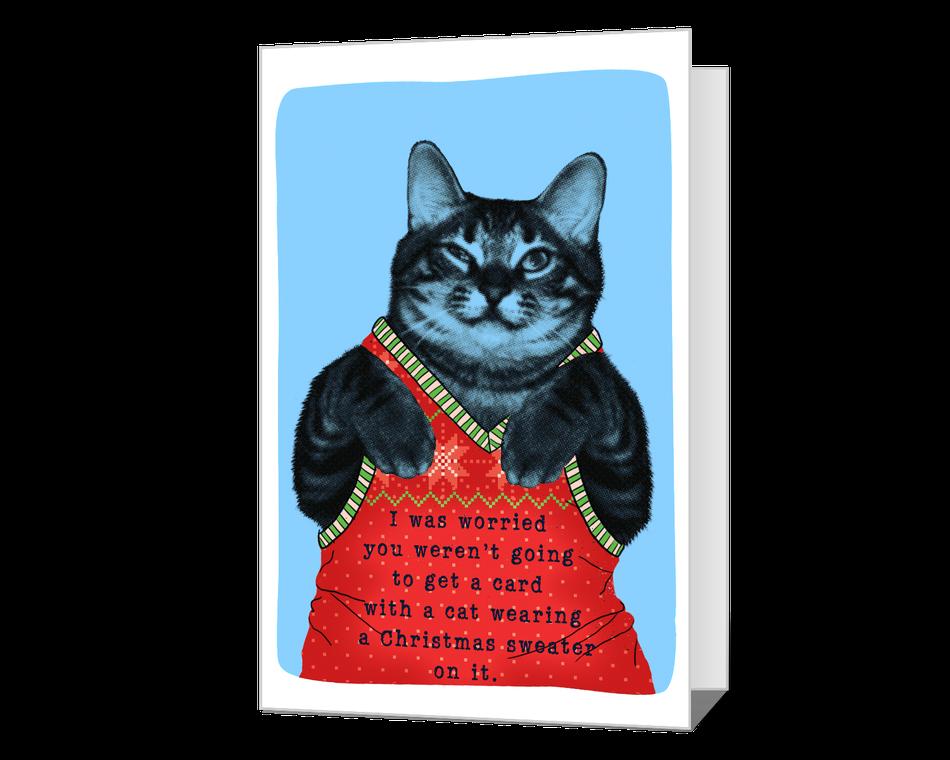 Meowy Christmas Printable