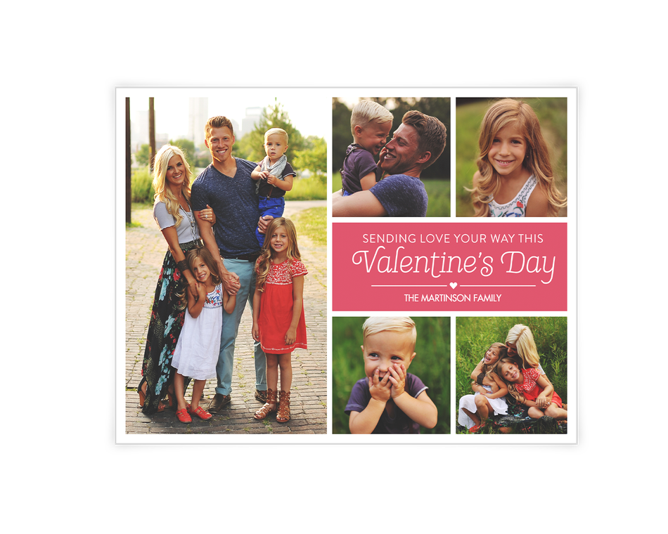 Sending Love Printable (Add-a-Photo)