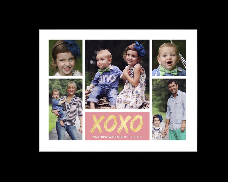 XOXO Printable (Add-a-Photo)