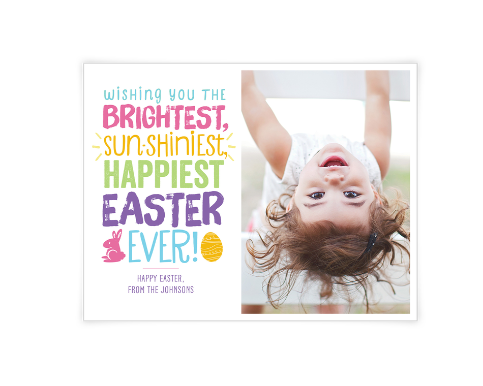 Bright and Shiny Easter Printable (Add-a-Photo)