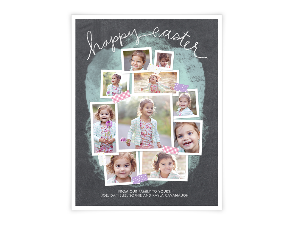 Easter Collage Printable (Add-A-Photo)