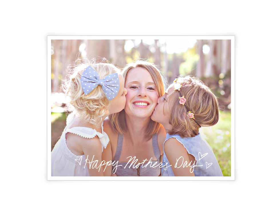 Mother's Day Wishes Add-a-Photo Printable