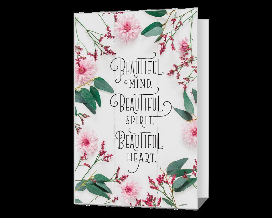 Beautiful You Printable