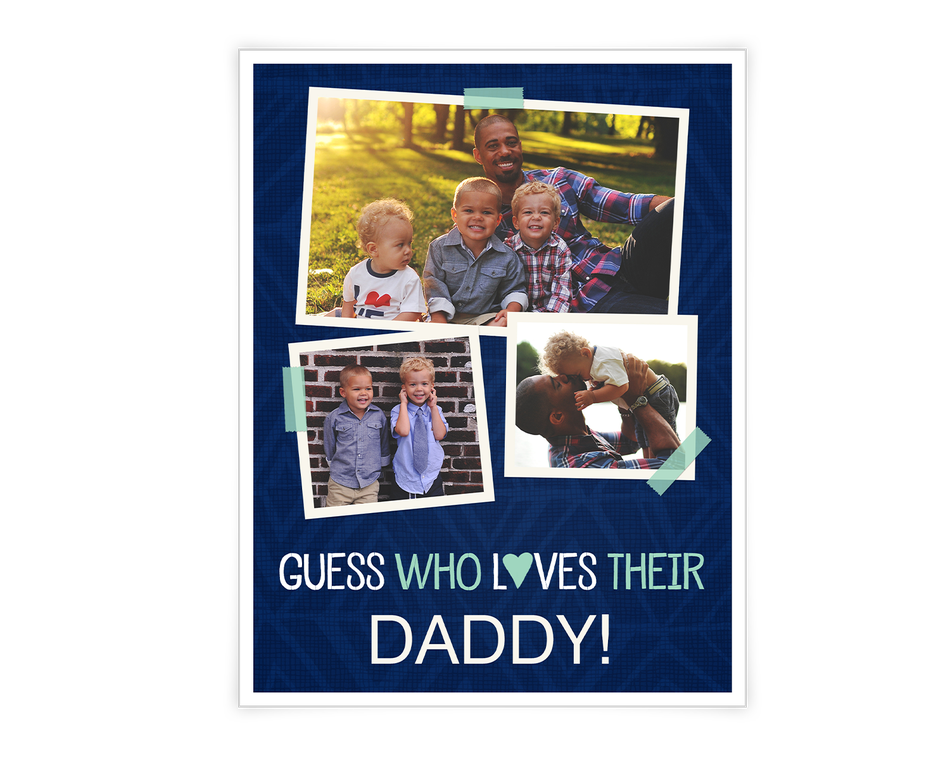 Father's Day Printable (Add-a-Photo)