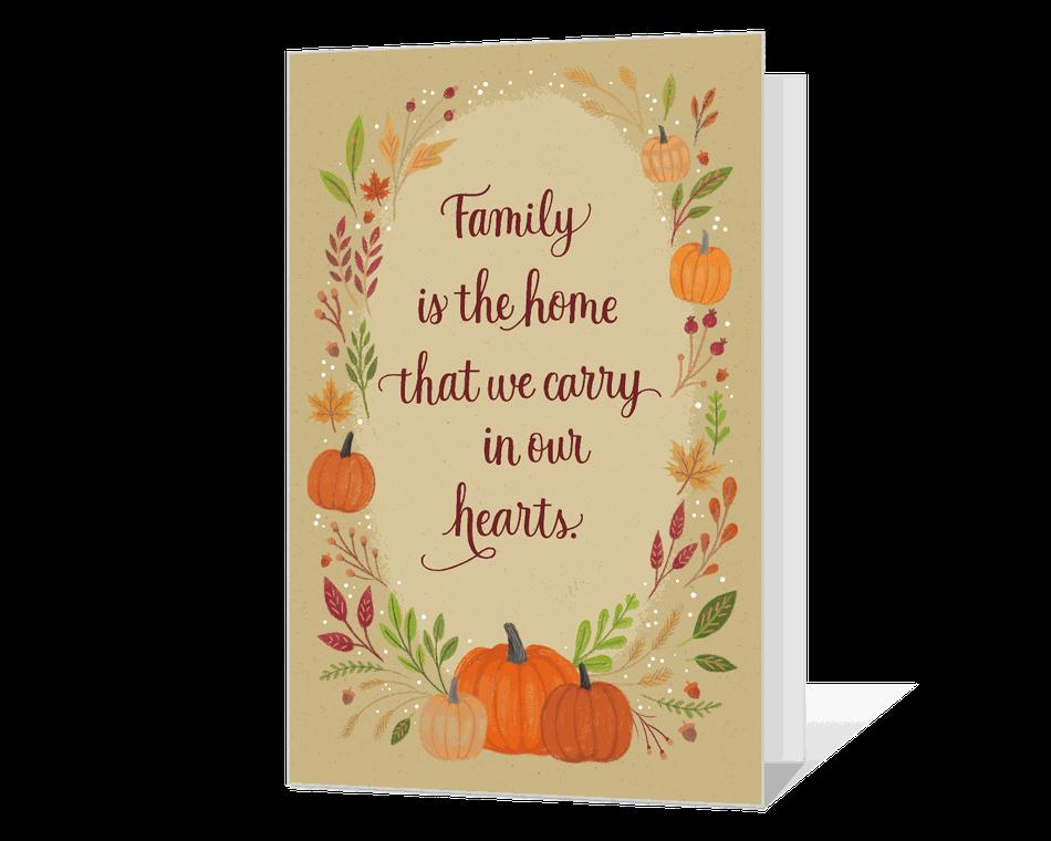 Family and Home Printable