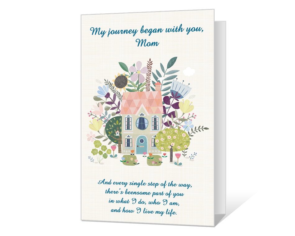 You Were Always There, Mom Printable