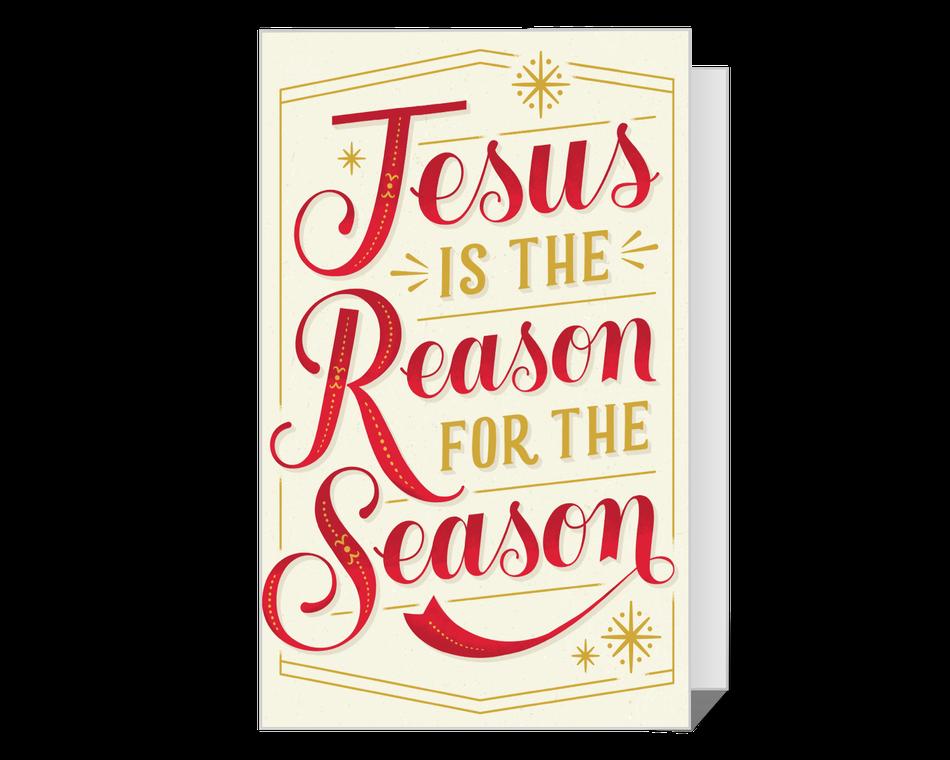The Reason for the Season Printable