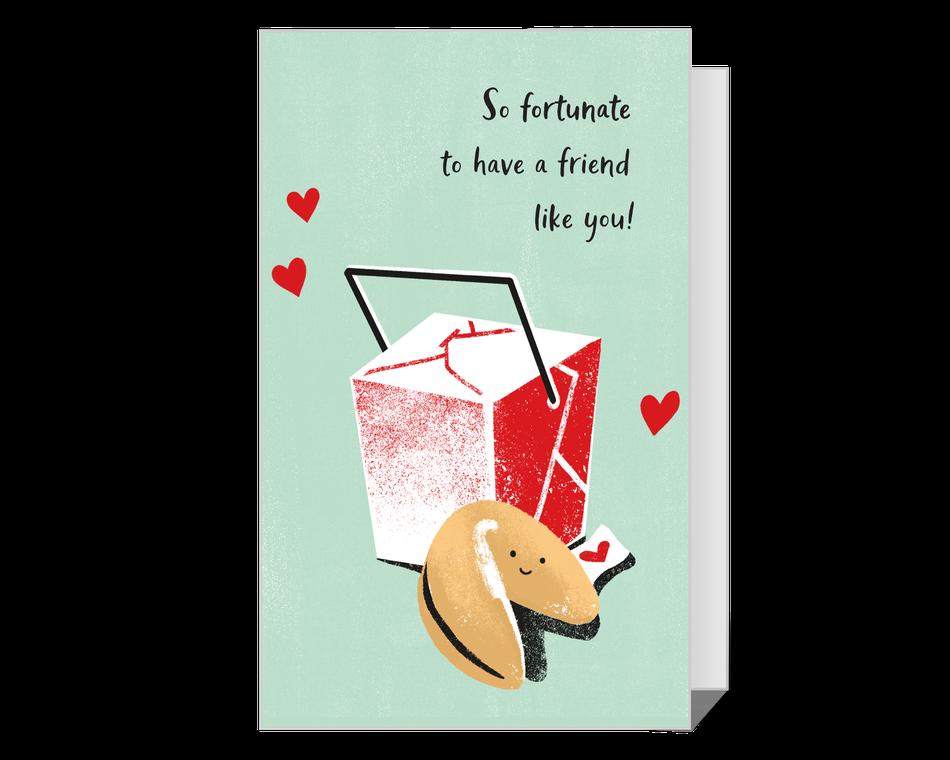 So Fortunate Valentine's Day Printable
