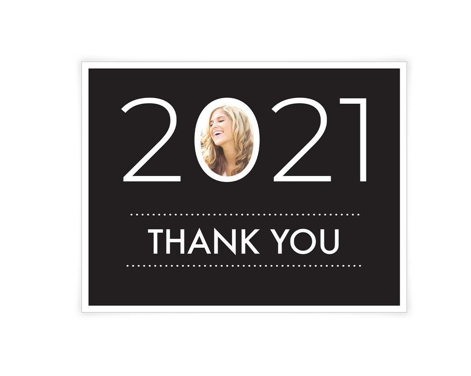 Graduate Thank You Printable (Add-a-Photo)