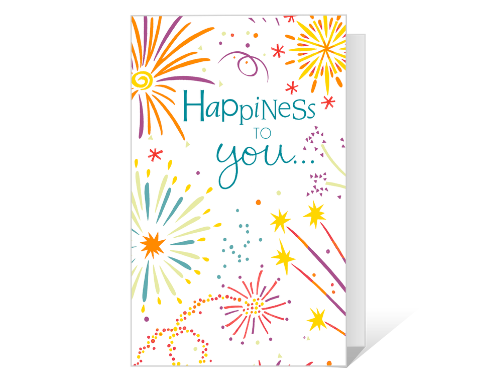 Happiness in the New Year Printable