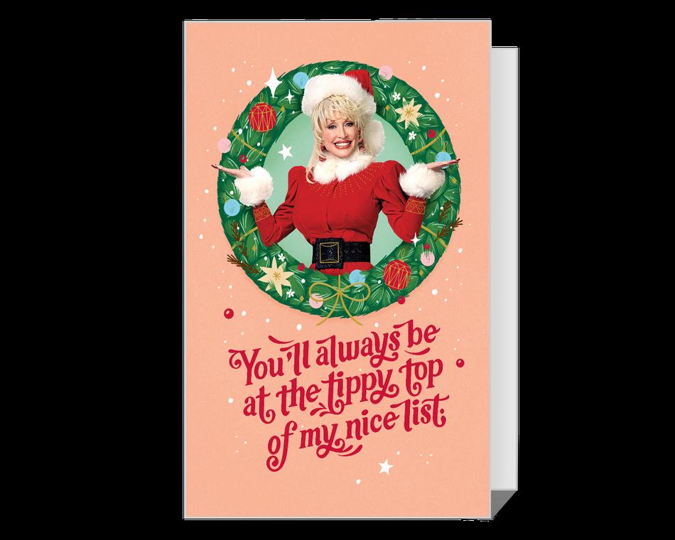 Dolly Naughty or Nice Christmas Printable
