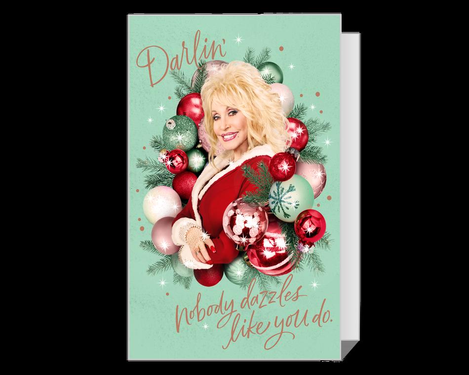 Dolly You Sparkle Christmas Printable