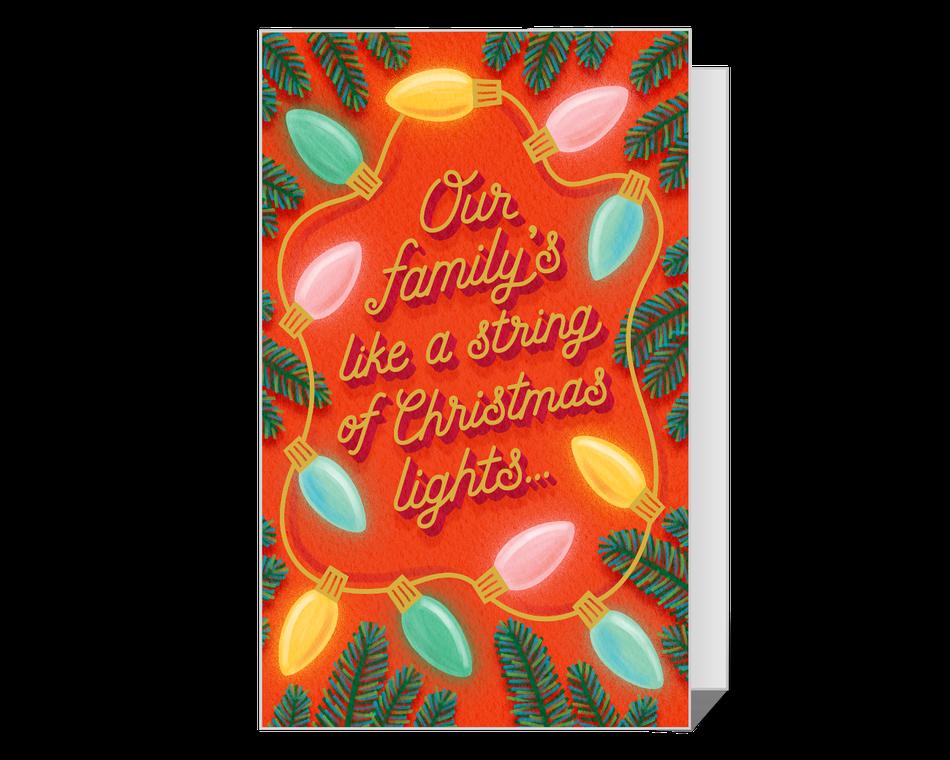 Dolly Christmas Lights Printable