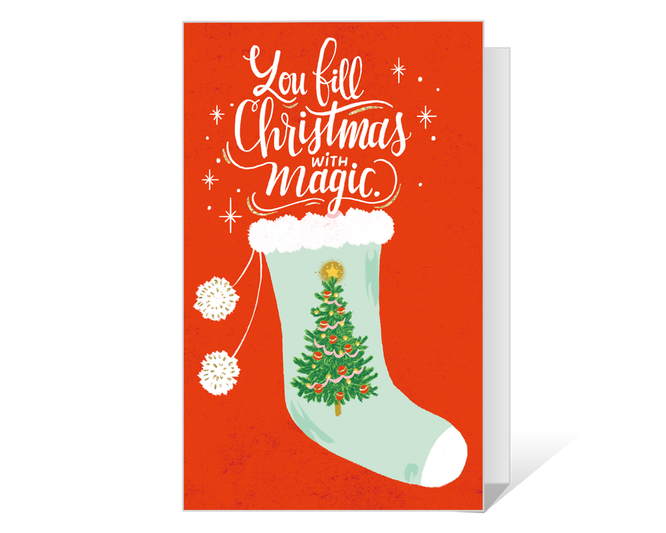 Dolly Christmas Magic Printable