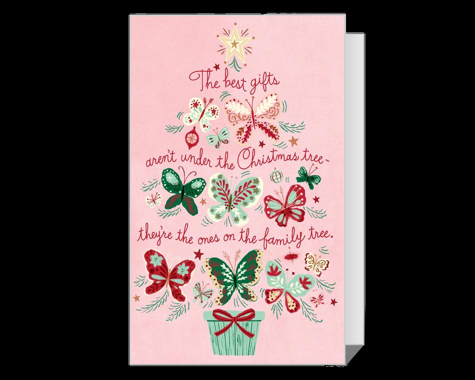 Dolly Family Tree Christmas Printable