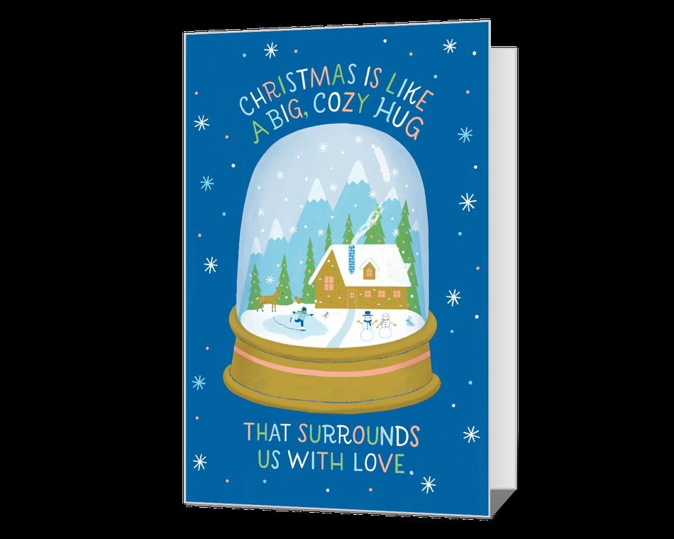 Christmas Hug Printable