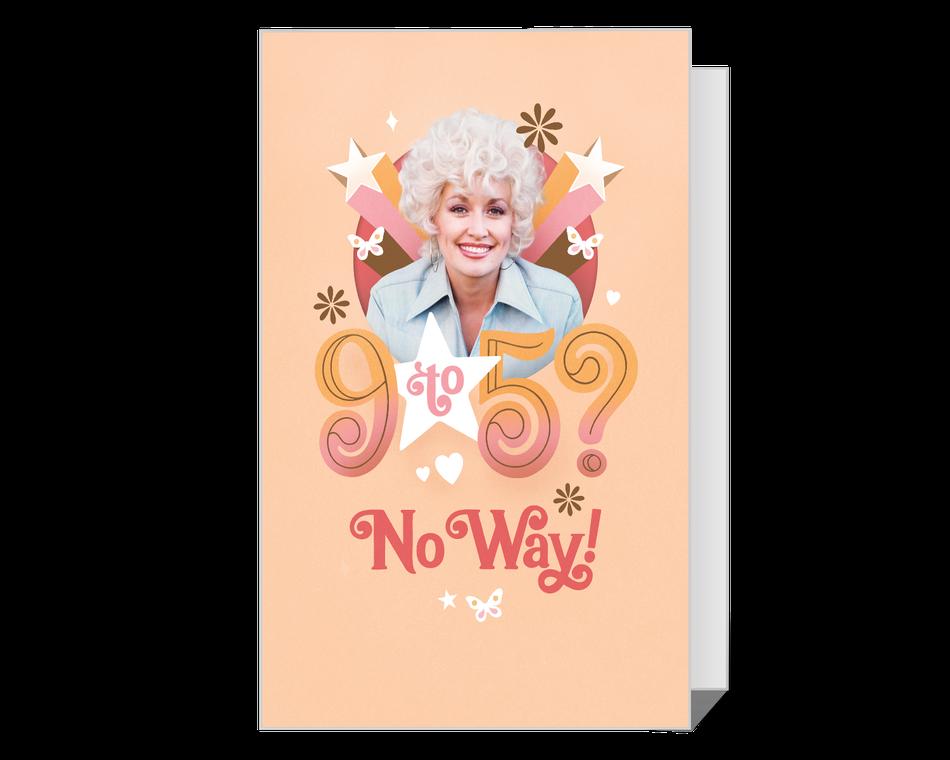 Dolly 9-to-5 Isn't Enough Printable