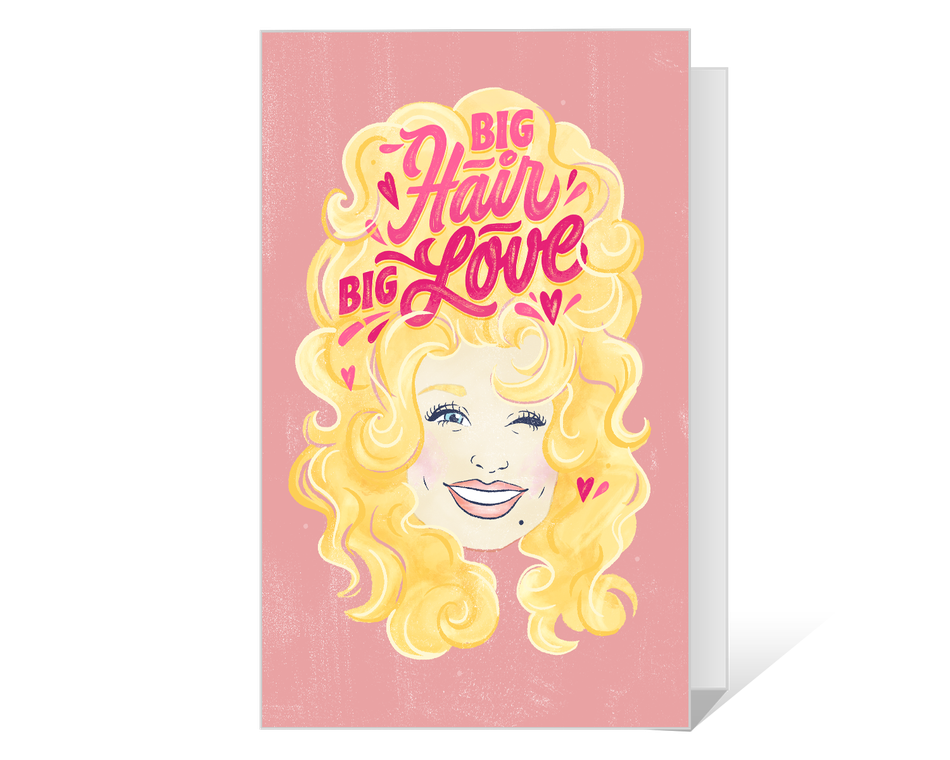 Dolly Big Hair Big Love Printable