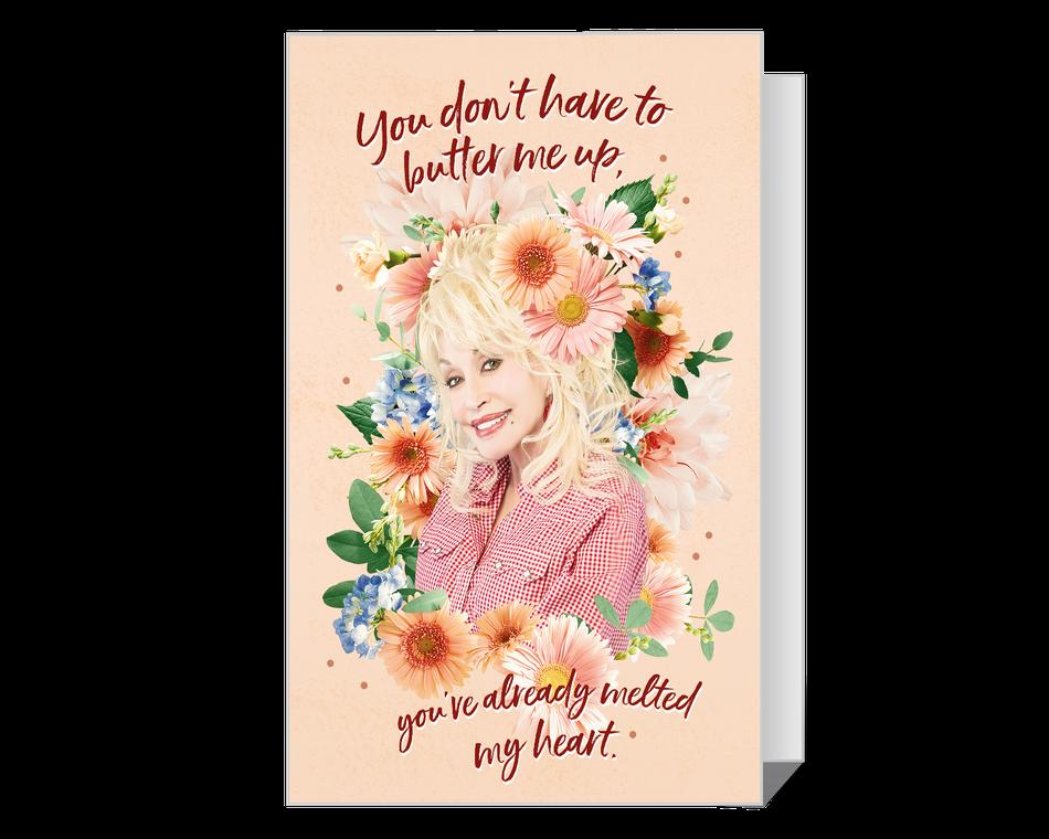 Dolly 'Melt My Heart' Valentine Printable