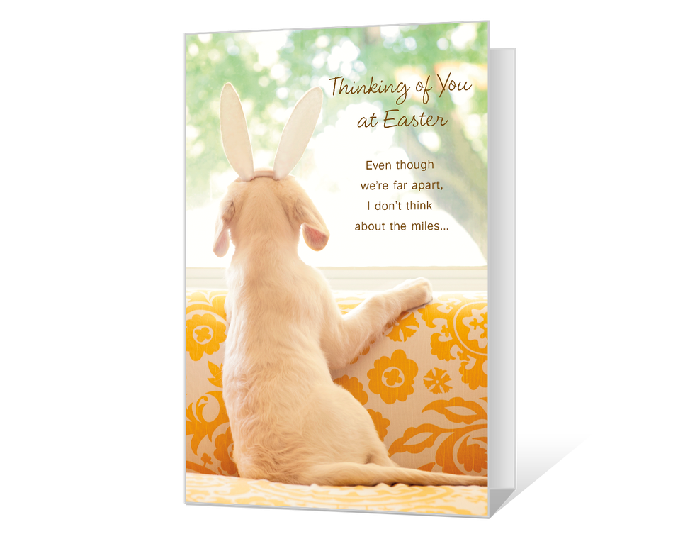 Thinking of You at Easter Printable