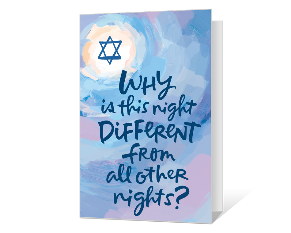 Thinking of you at Pesach Printable