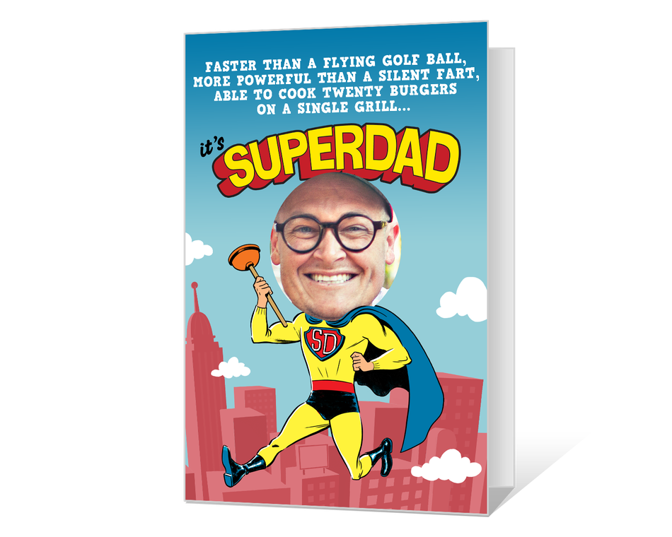 SuperDad Printable (Add-a-Photo)